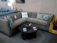 Canadian made tufted sectional