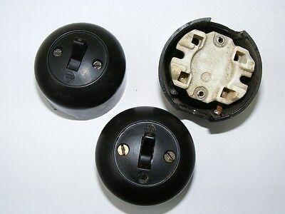 Old Bakelite Wall Light Switch Switch Ap Toggle Switch Loft Design