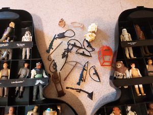 Star Wars figures and accessories lot