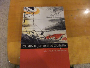 Criminal Justice in Canada by Roberts/Grossman