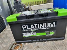 Platinum Leisure plus 100Ah brand new