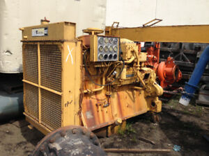 Cat D353 whole engine or for parts motor now is mostly complete
