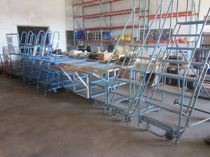 Ladders, Carts, Warehouse & Office Equipment Liquidation Sale