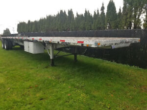 Lode king flat bed trailer