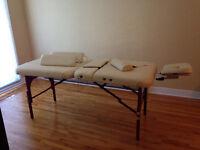 Massage/esthetician table