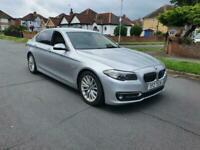 BMW 520 LUXURY AUTO 2.0 EURO 6 ULEZ FREE FSH HPI CLEAR CAMERA SAT NAV WIDE SCREN