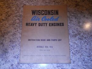 Wisconsin VE4 & VF4 Air Cooled Engine Manual