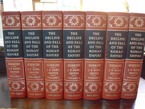 The Decline and Fall of the Roman Empire 7 Vol. Set (Gibbon)