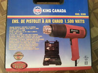 Ensemble pistolet a air chaud King Canada