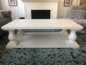 Large Brand New Rustic/ Farmhouse Balustrade Coffee Table