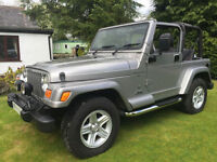 STUNNING JEEP WRANGLER 60TH ANNIVERSARY 4.0L GREAT 4X4 ICONIC EVERYDAY CLASSIC