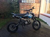Welsh pit bike 120cc