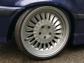 18 inch Staggered Ispiri CSR1D Alloy Wheels & Tyres - bmw e46 e60 e38
