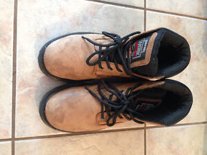 Size 8.5 Mens Steel Toe Work Boot