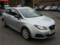 Seat Ibiza 1.2 12v ( 70ps ) ( a/c ) SportCoupe S - 1 Yr MOT, 1 yr Warranty & AA