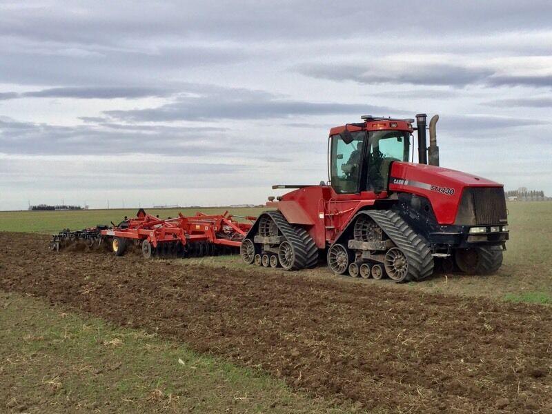low hour case ih stx 430 steiger quadtrac farming