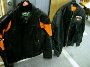 Genuine Harley Davidson Leather Jacket Sz XL