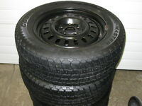 For Sale 225 60 R16 Cooper Weather Master Winter Tires And Rims