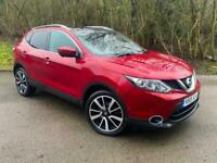 Nissan Qashqai 2015 1.6 dCi Tekna 5 Door Red Manual Diesel