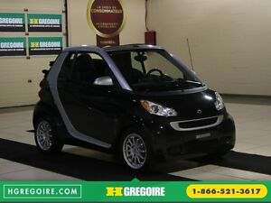 2012 Smart Fortwo CONVERTIBLE PASSION AUTO A/C GR ELECT NAV