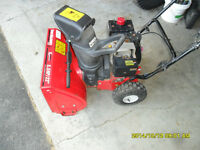 "Wanted: MTD Yard Machines Snow Blower 5 or 5.5HP 22"" or 24"" for"