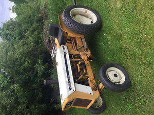 International Cub 154 tractor and snow blower