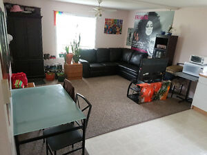 1 bedroom for rent in shared basement suite.
