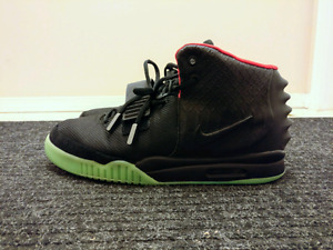 UA nike air yeezy 2 solar red size 13