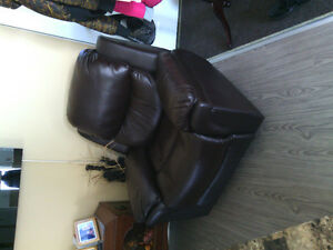 Fauteuil inclinable et bercant