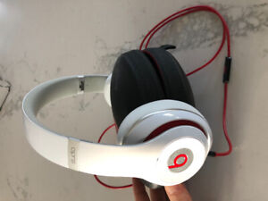 Beats by Dre wired over ear headphones. Like new!!
