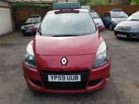RENAULT SCENIC EXPRESSION VVT Red Manual Petrol, 2009
