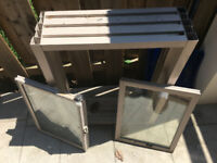 Basement windows 3 for $250
