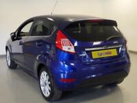 2017 Ford Fiesta 1.0 EcoBoost Titanium 5dr Powershift Petrol blue Automatic