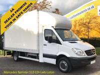 Mercedes Sprinter 513 CDi Lwb Luton Box Van+T/Lift A/C Low Mileage (5000kg) 2010