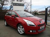 2010 Peugeot 5008 1.6HDi ( 110bhp ) FAP Exclusive(history,warranty)