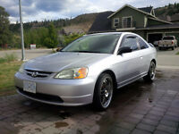 2002 Honda Civic Coupe (2 door)