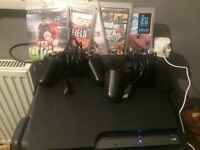 PS3 with GTA V and FIFA 16