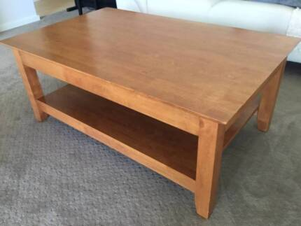 Coffee Table Solid Timber