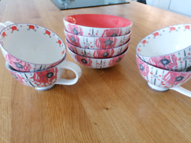 Anthropologie Mugs and Bowls