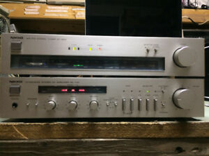 Nikko NA-700 Amplifier +Tuner NT-500 1981, Vintage with phono in