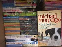 Primary school children books--Michael Morpurgo etc