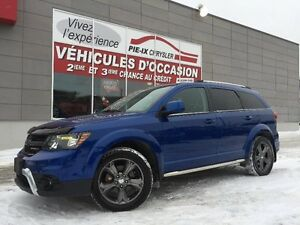 Dodge Journey FWD 4dr Crossroad+7 PASSAGER+MAGS+CUIR+WOW! 2015