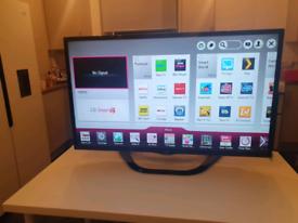 "LG 42"" LED Smart TV + Warranty"