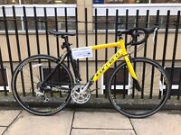 Carrera TDF Road bike . Yellow and black