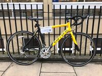Carrera TDF Road bike . Yellow and black