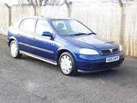Vauxhall Astra 1.4i 16v 2003, Long Mot, 5 Door Hatchback, Blue