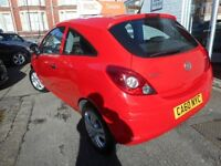 Vauxhall Corsa ENERGY ECOFLEX (red) 2011