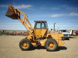 CASE W14 FEEDLOT SPECIAL PAYLOADER