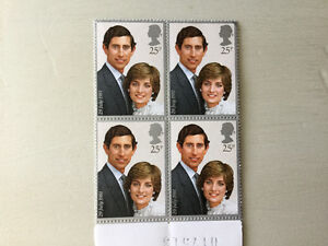 Princess Diana & Prince Charles wedding stamps - page of 4