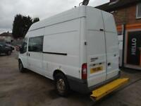 2011 Ford Transit 2.4TDCi Duratorq (100PS) 350 LWB 8 SEATER MESS CAMPER WELFARE